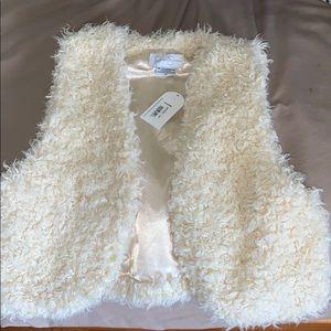 Jessica Simpson Sherpa vest